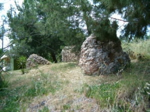 Ερείπεια του Ρωμαϊκού υδραγωγείου
